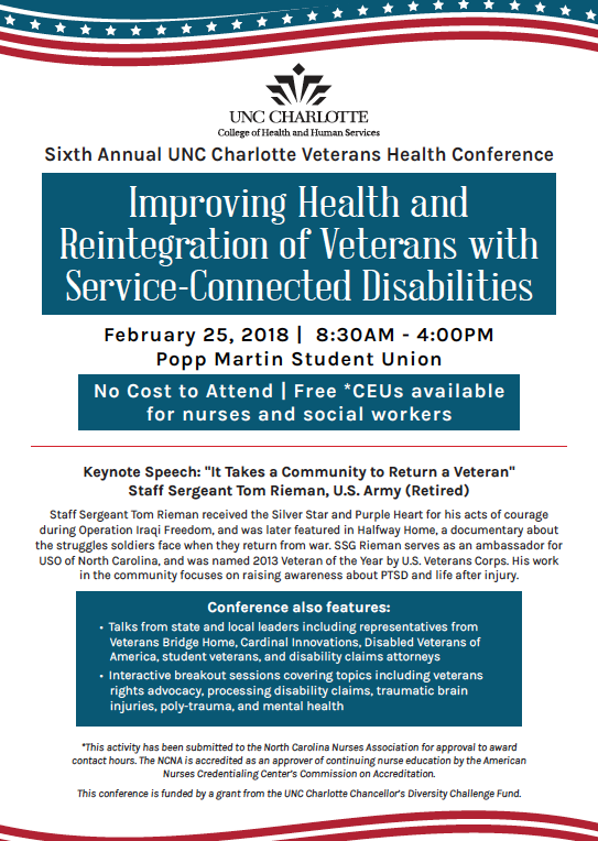 Sixth Annual Veterans Health Conference School Of Nursing Unc
