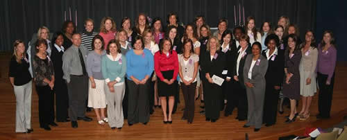 2008 new inductees at the gamma iota induction ceremony