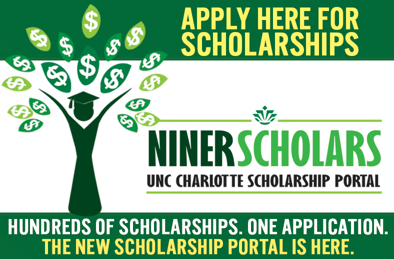 NinerScholars: Apply Here for Scholarships